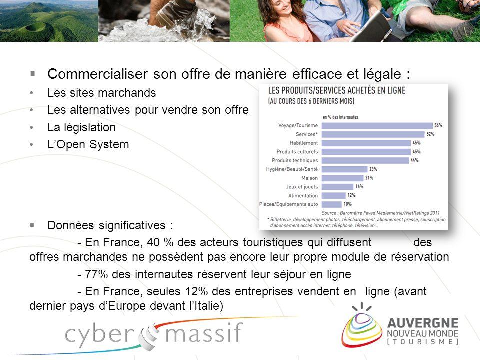 Commercialiser son offre de manière efficace et légale :