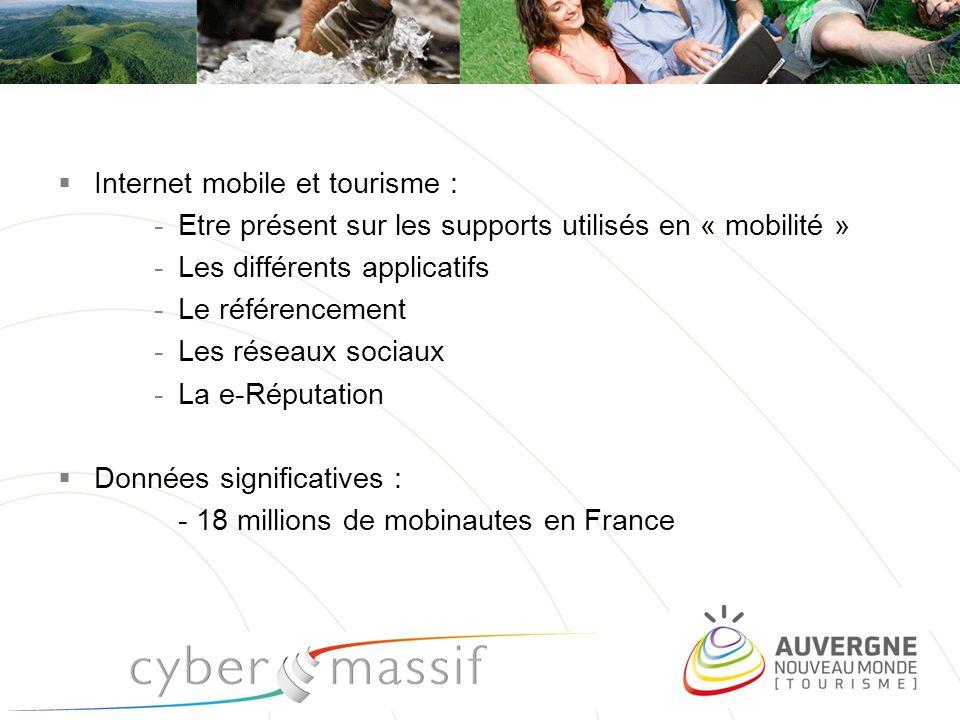 Internet mobile et tourisme :