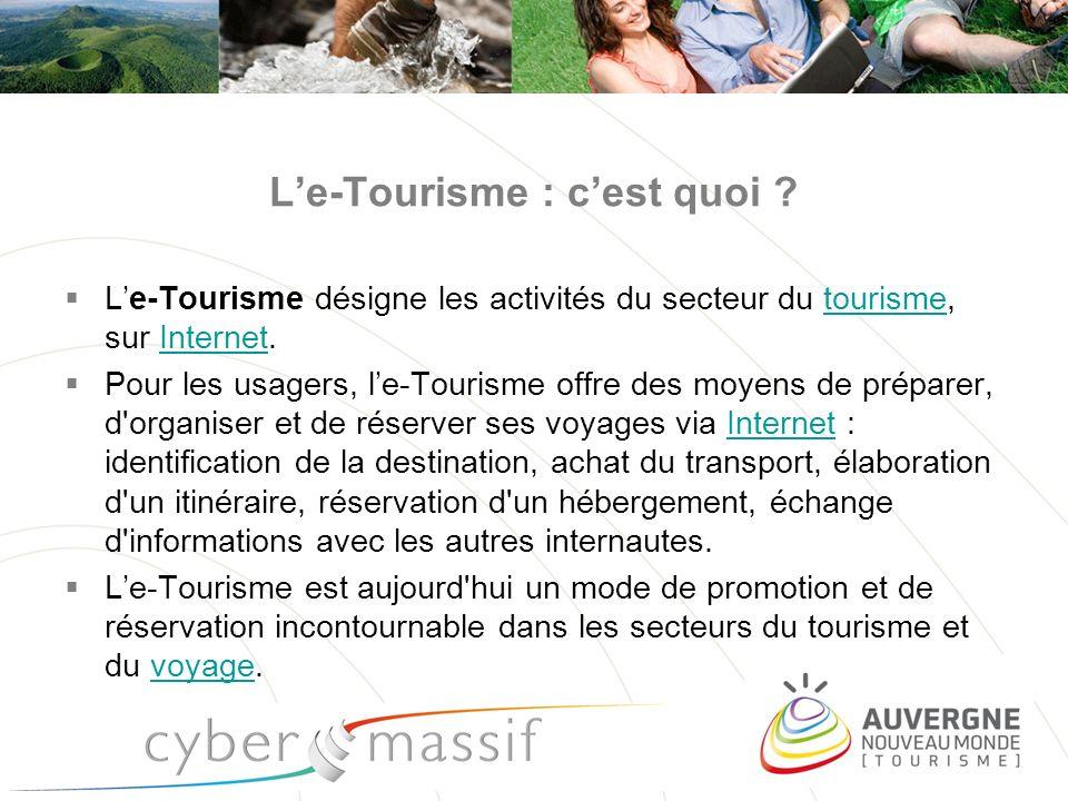 L'e-Tourisme : c'est quoi