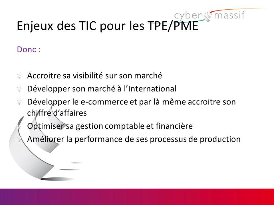Enjeux des TIC pour les TPE/PME