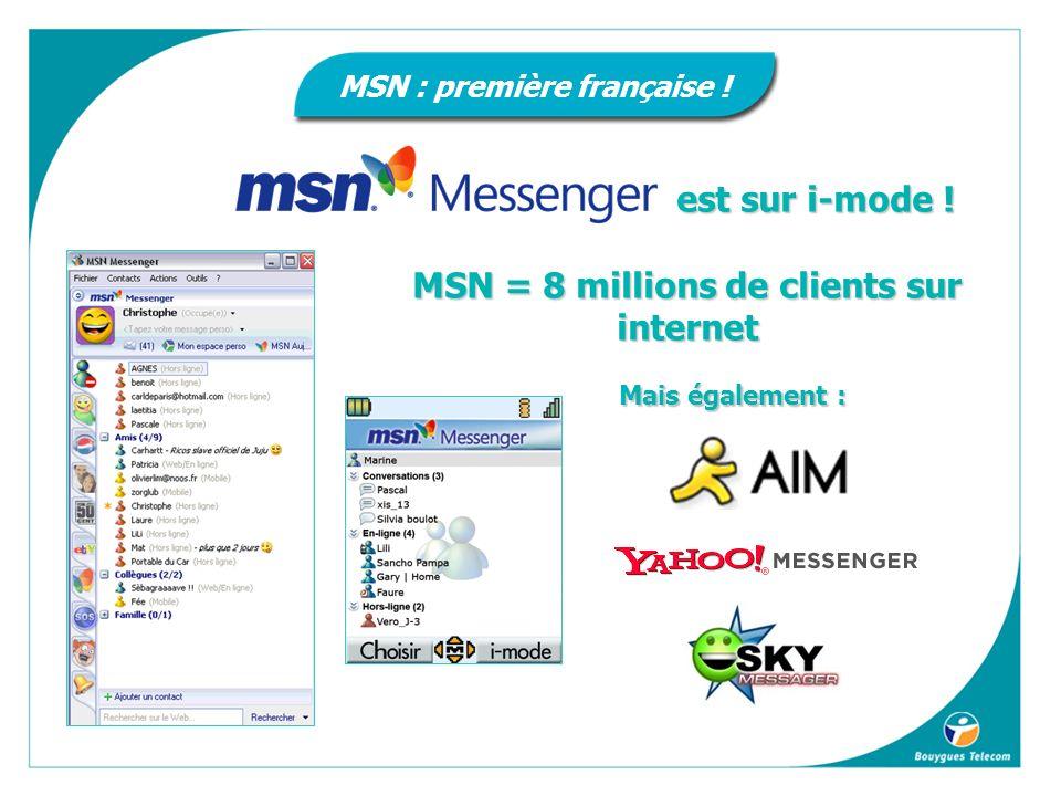MSN : première française !