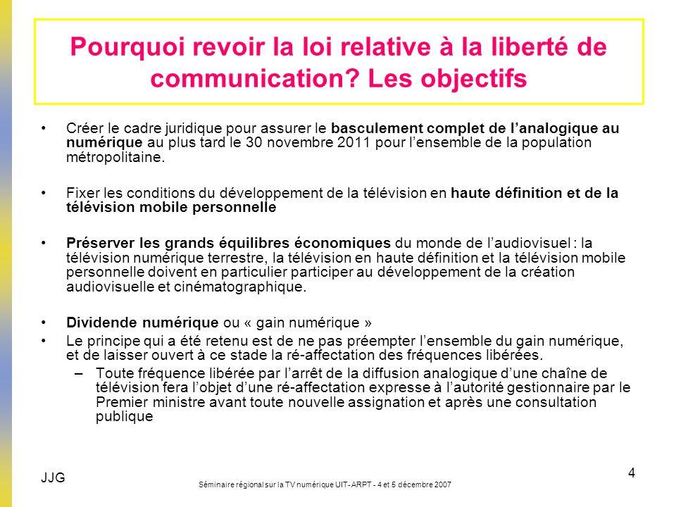 Pourquoi revoir la loi relative à la liberté de communication