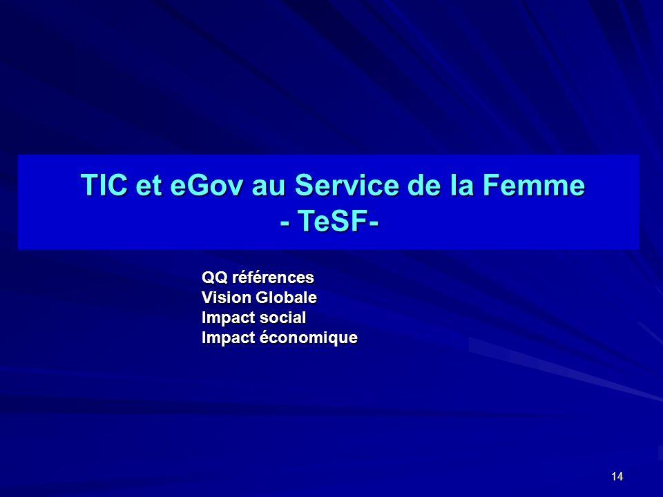 TIC et eGov au Service de la Femme