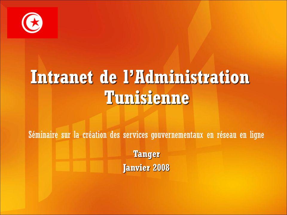 Intranet de l'Administration Tunisienne