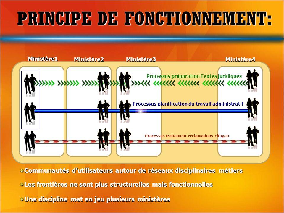 PRINCIPE DE FONCTIONNEMENT: