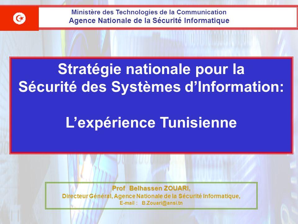 Stratégie nationale pour la Sécurité des Systèmes d'Information: