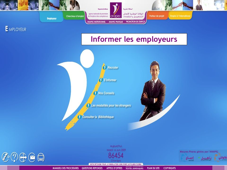 Informer les employeurs