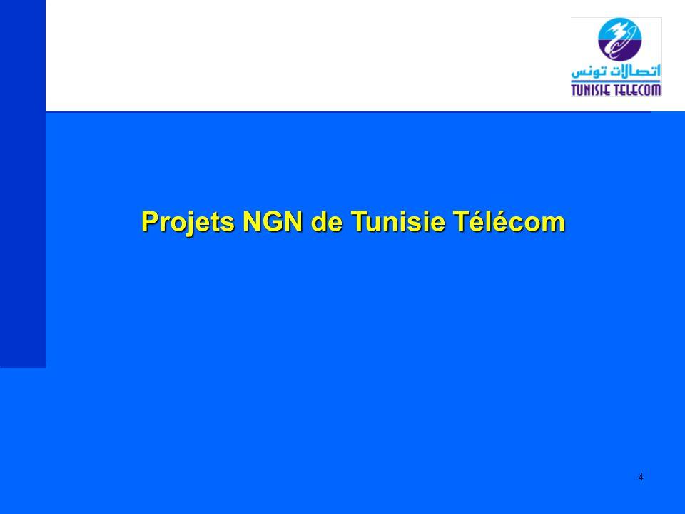 Projets NGN de Tunisie Télécom