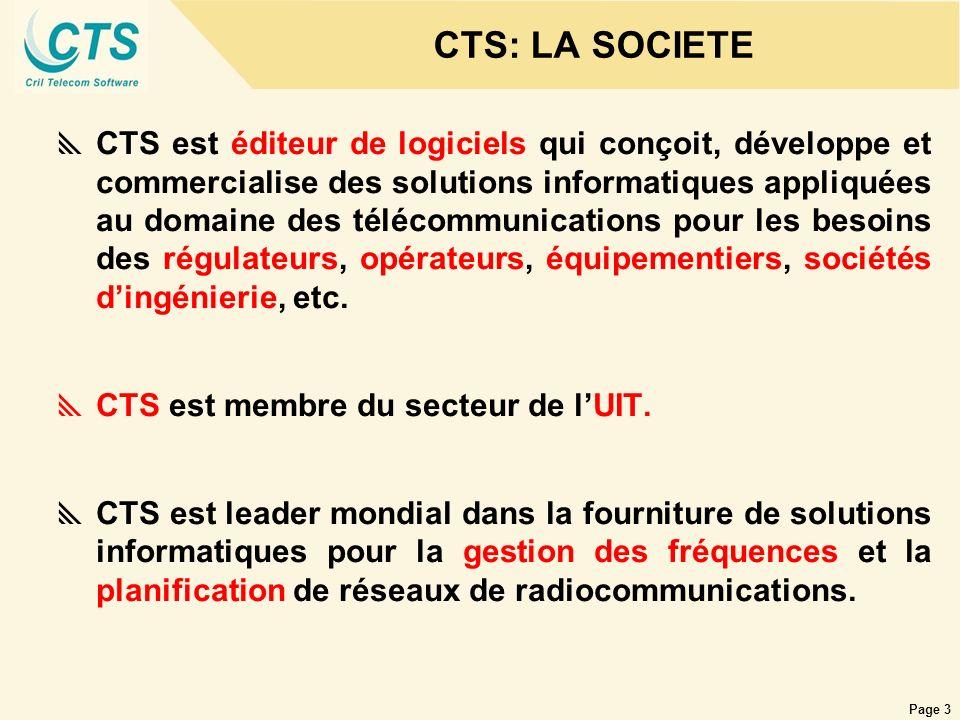 CTS: LA SOCIETE