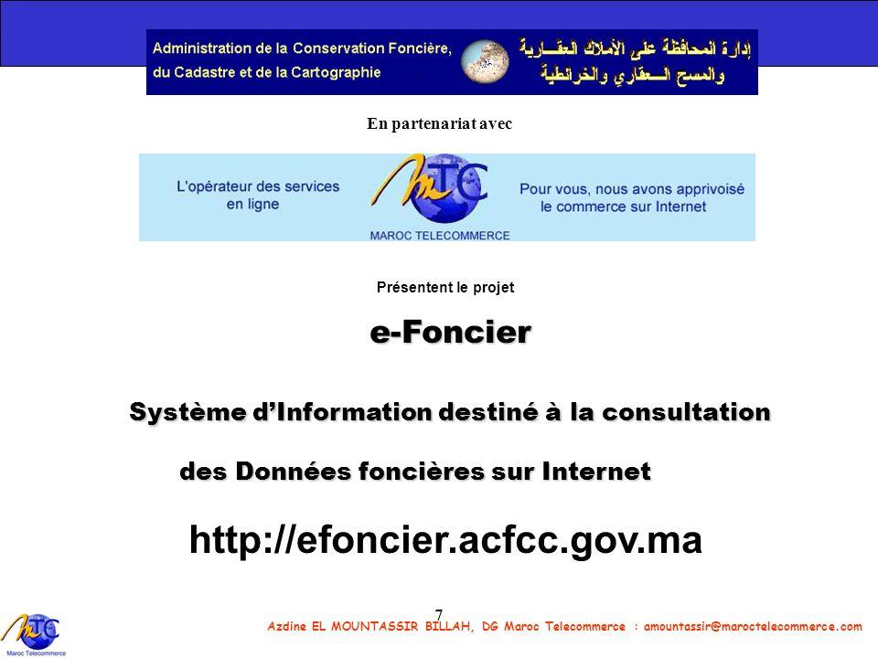 http://efoncier.acfcc.gov.ma e-Foncier