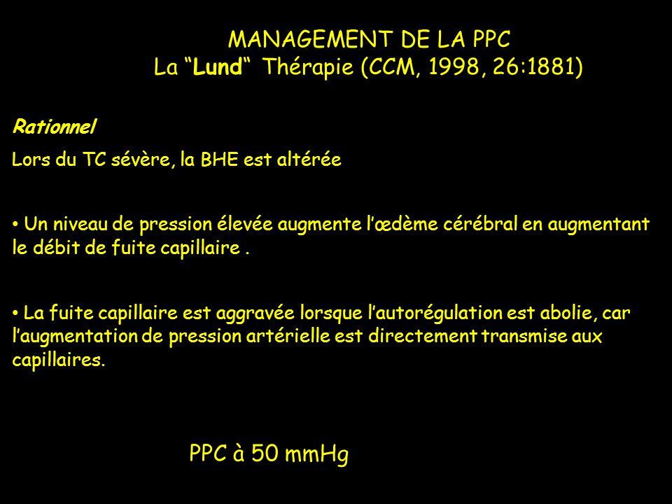 La Lund Thérapie (CCM, 1998, 26:1881)