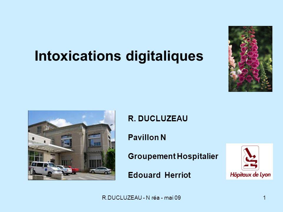 Intoxications digitaliques