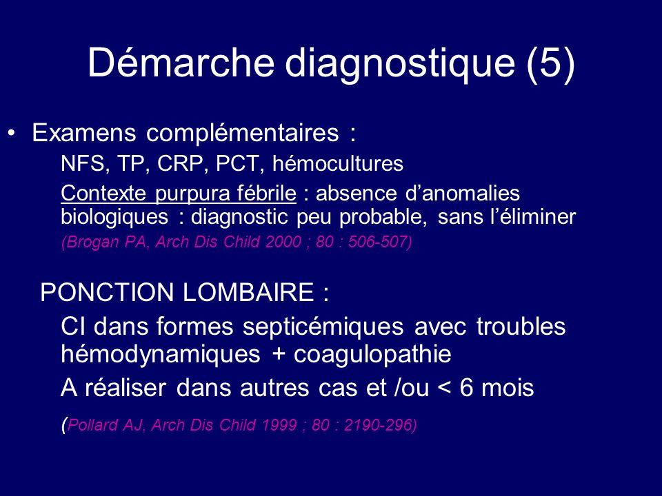 Démarche diagnostique (5)