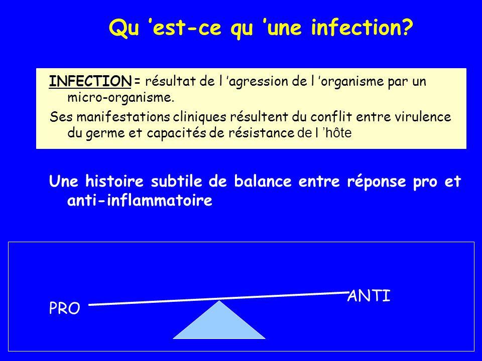 Qu 'est-ce qu 'une infection