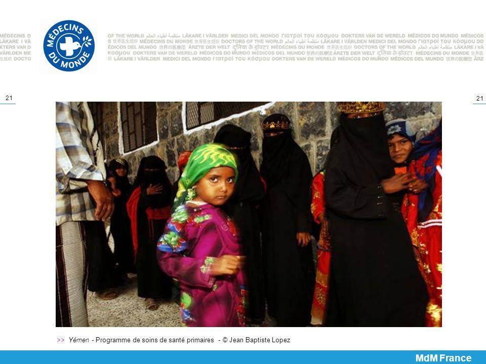 >> Yémen - Programme de soins de santé primaires - © Jean Baptiste Lopez