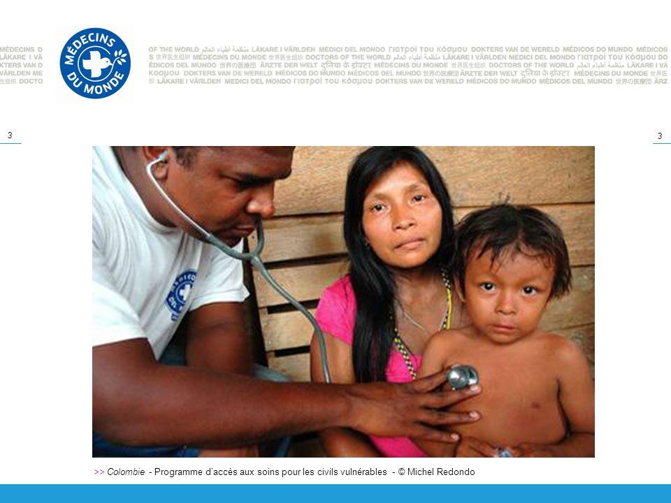 >> Colombie - Programme d'accès aux soins pour les civils vulnérables - © Michel Redondo