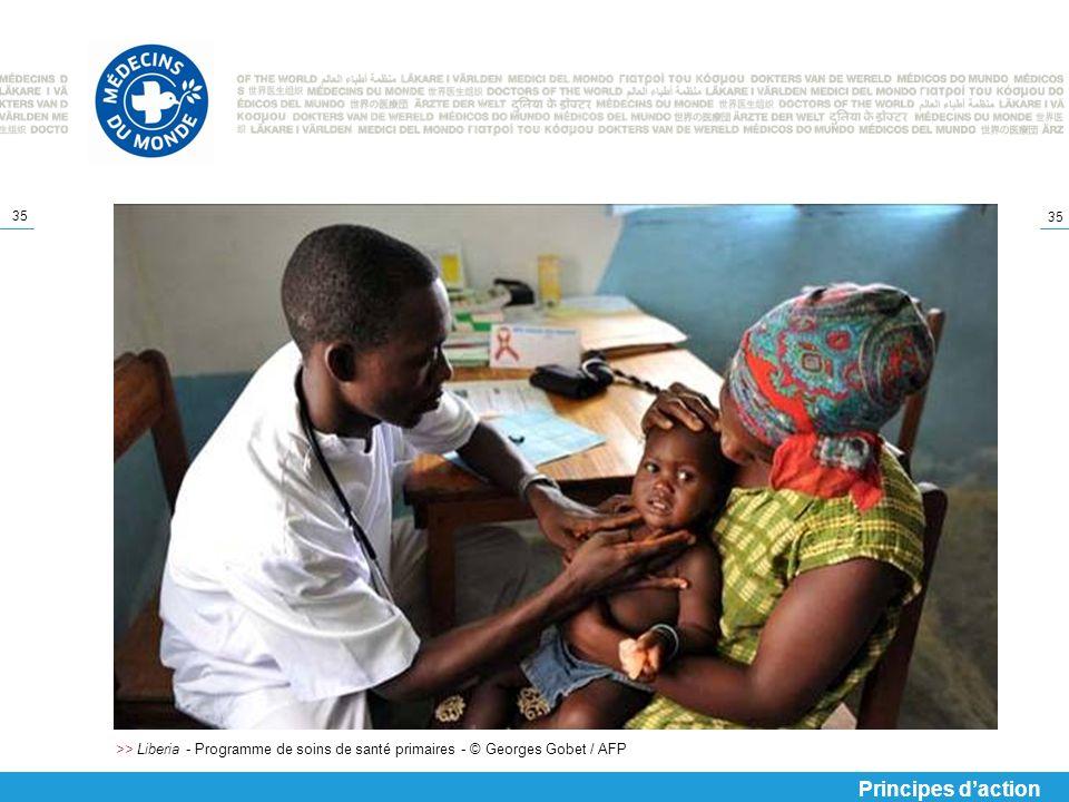 >> Liberia - Programme de soins de santé primaires - © Georges Gobet / AFP