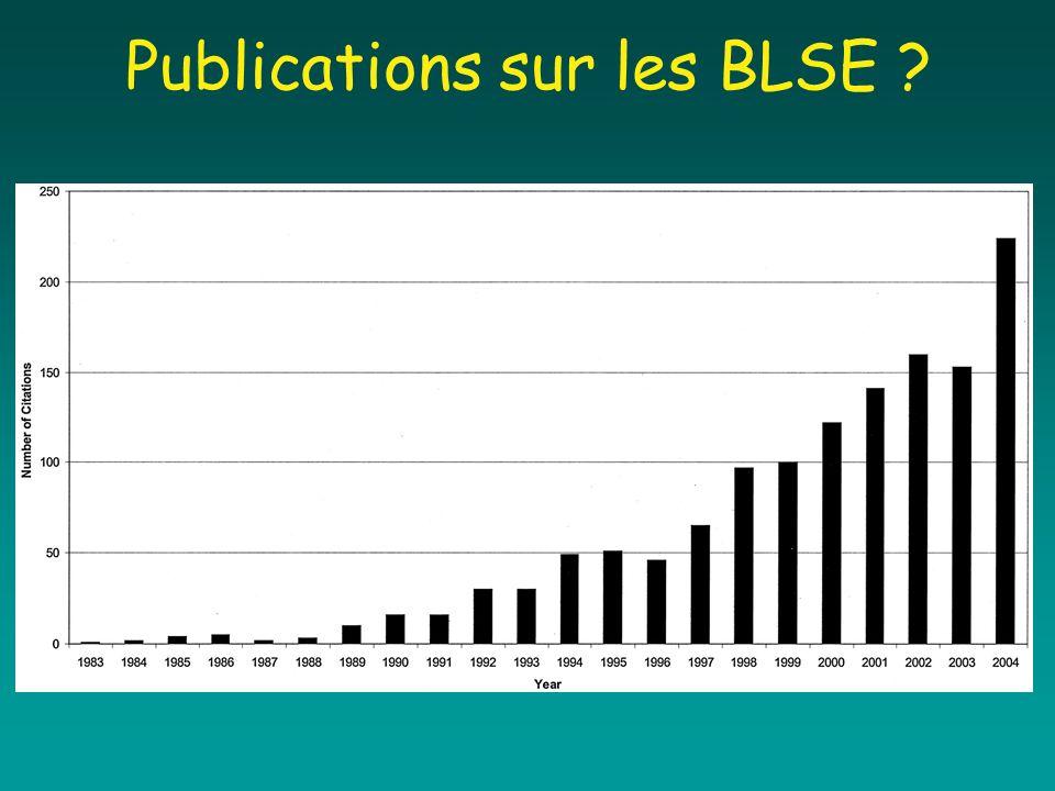 Publications sur les BLSE