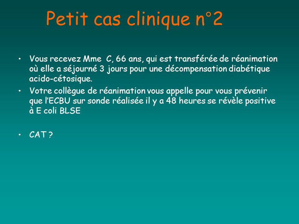 Petit cas clinique n°2