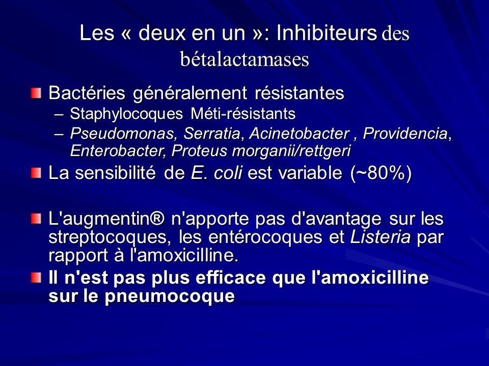 Les « deux en un »: Inhibiteurs des bétalactamases