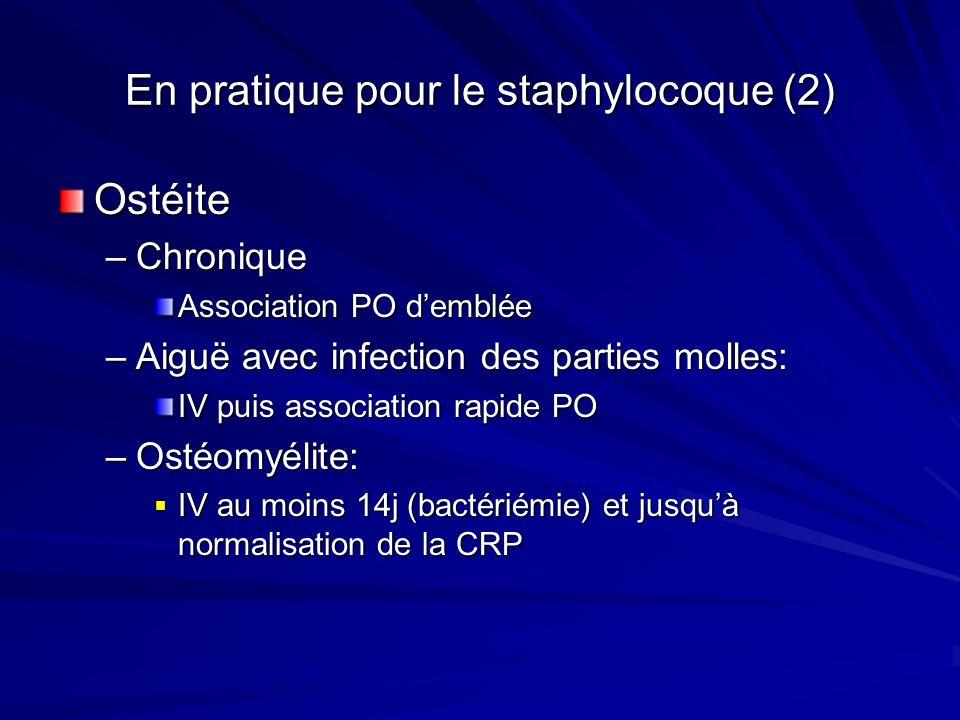 En pratique pour le staphylocoque (2)