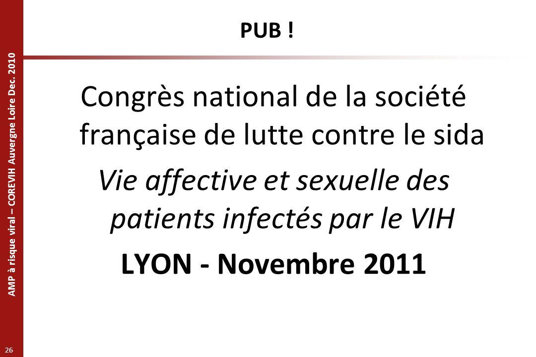 Congrès national de la société française de lutte contre le sida