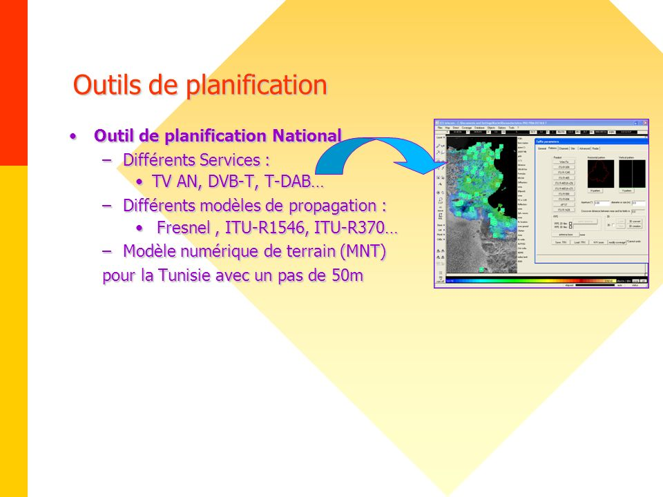 Outils de planification
