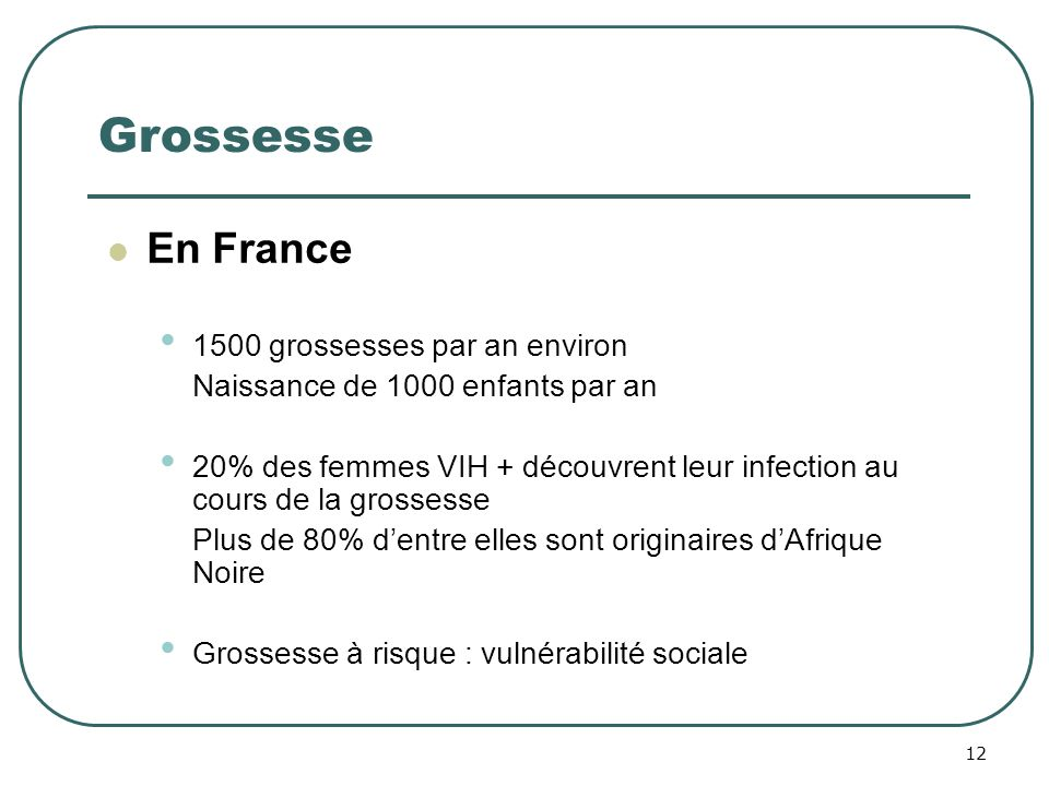 Grossesse En France 1500 grossesses par an environ