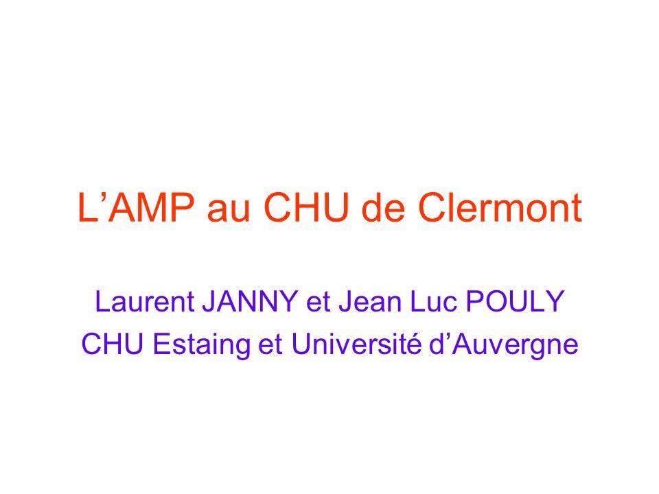 L'AMP au CHU de Clermont