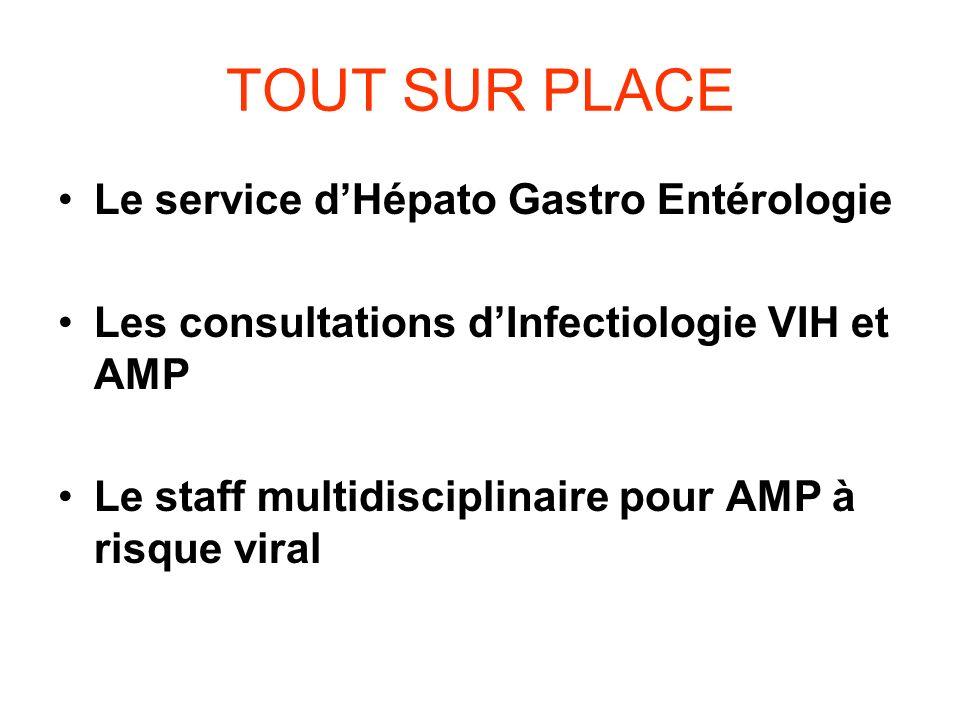 TOUT SUR PLACE Le service d'Hépato Gastro Entérologie