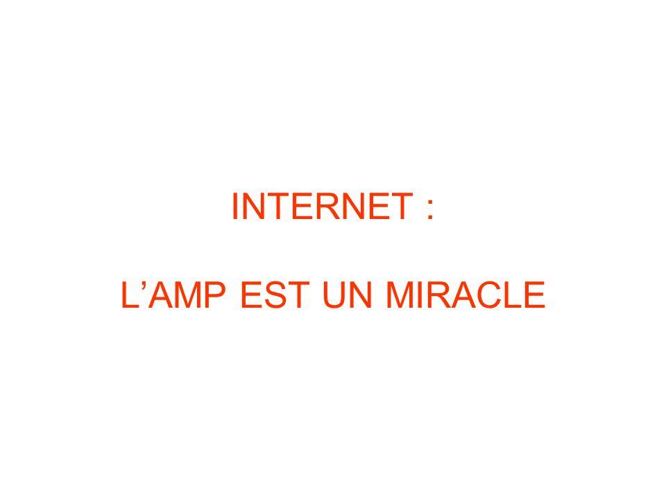 INTERNET : L'AMP EST UN MIRACLE