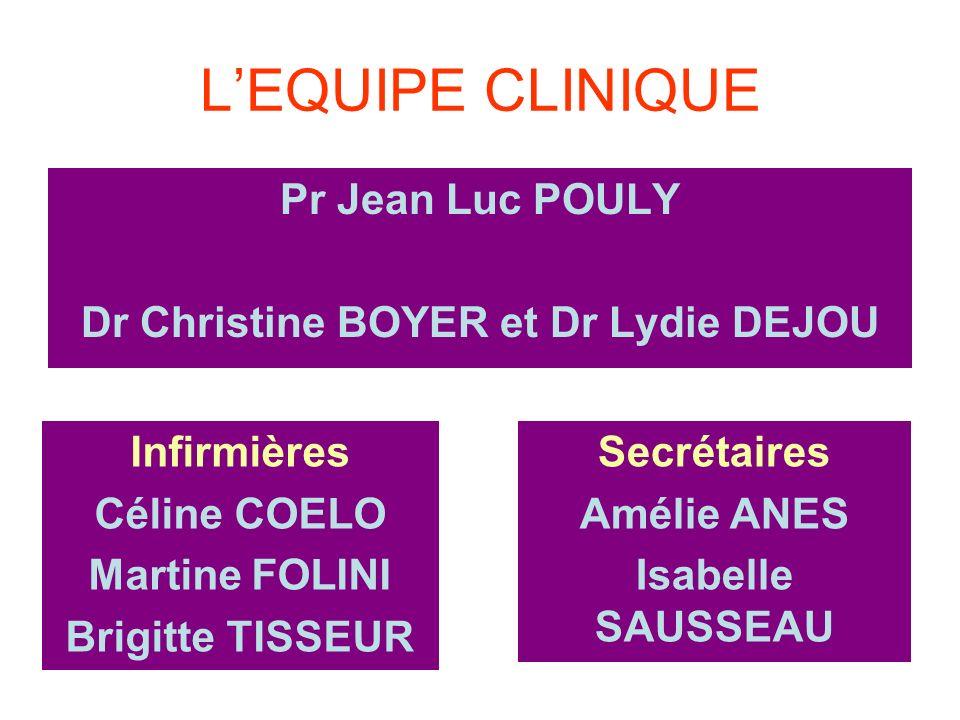 Dr Christine BOYER et Dr Lydie DEJOU