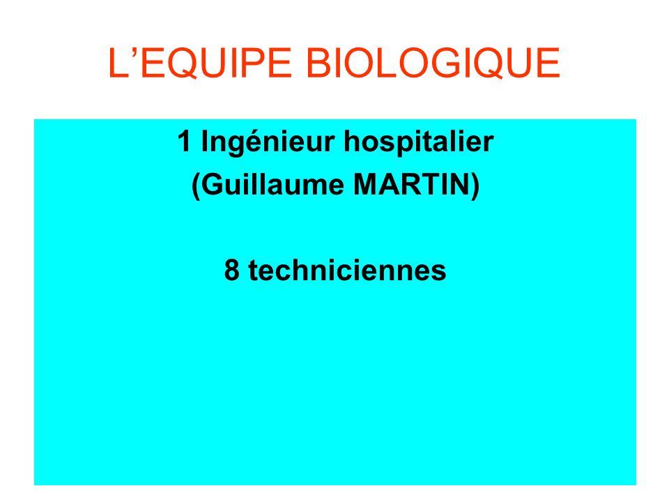 1 Ingénieur hospitalier