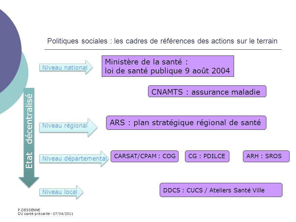 Politiques sociales : les cadres de références des actions sur le terrain