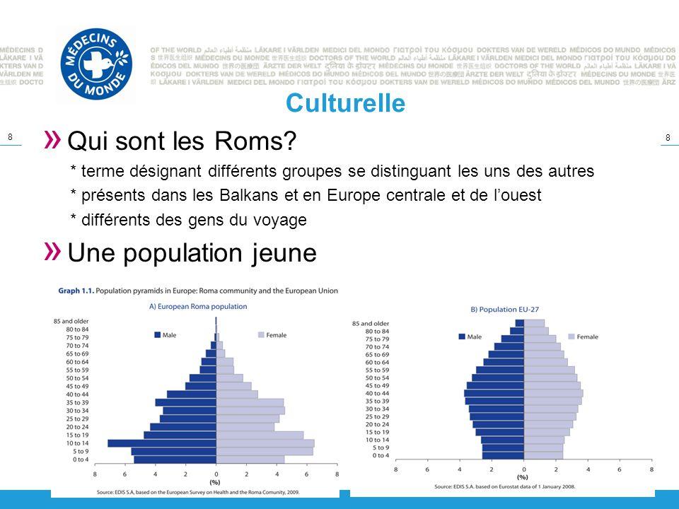 Culturelle Qui sont les Roms Une population jeune