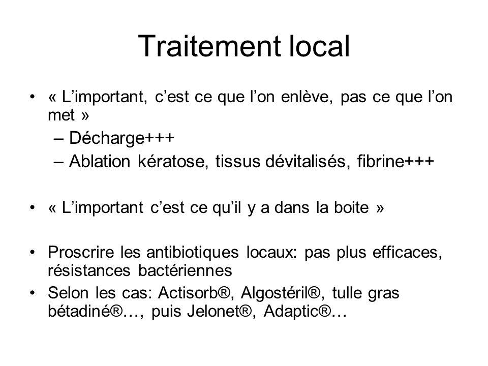 Traitement local Décharge+++
