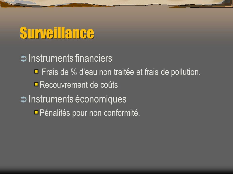 Surveillance Instruments financiers Instruments économiques