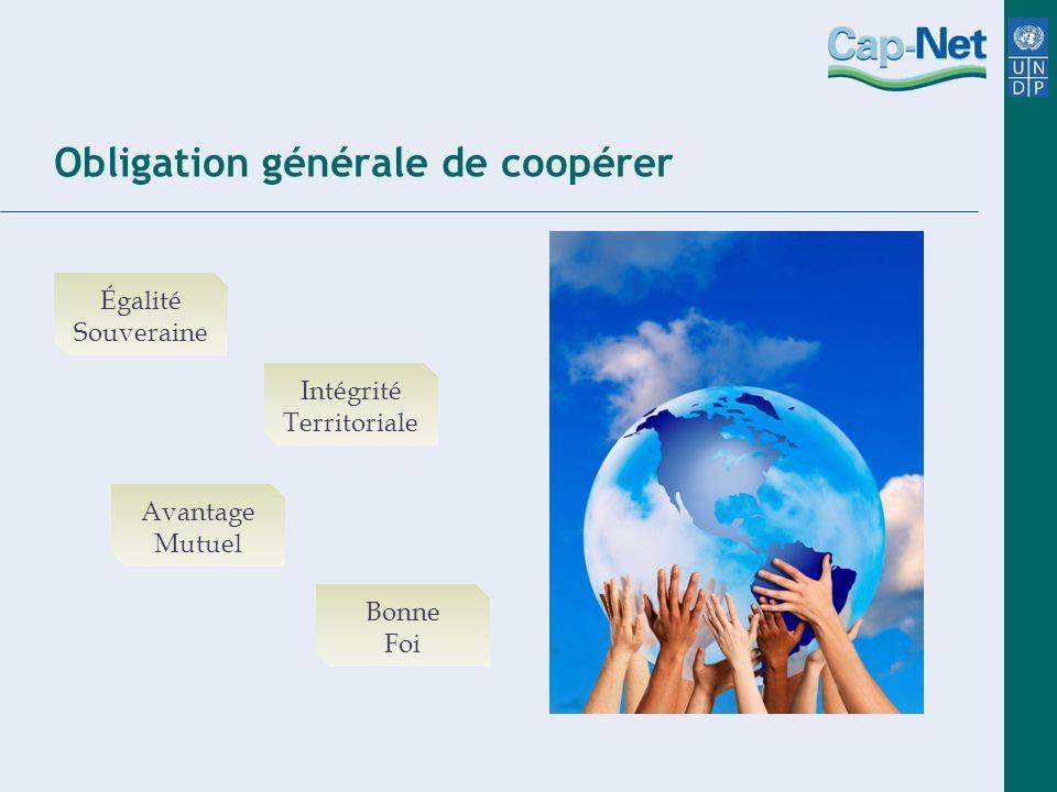 Obligation générale de coopérer