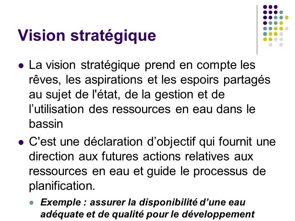 Vision stratégique