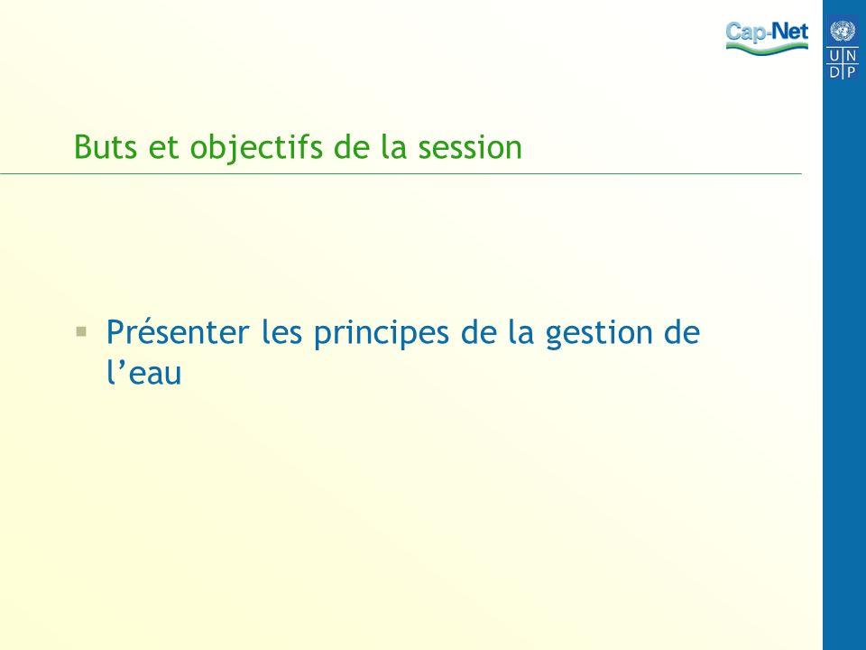 Buts et objectifs de la session