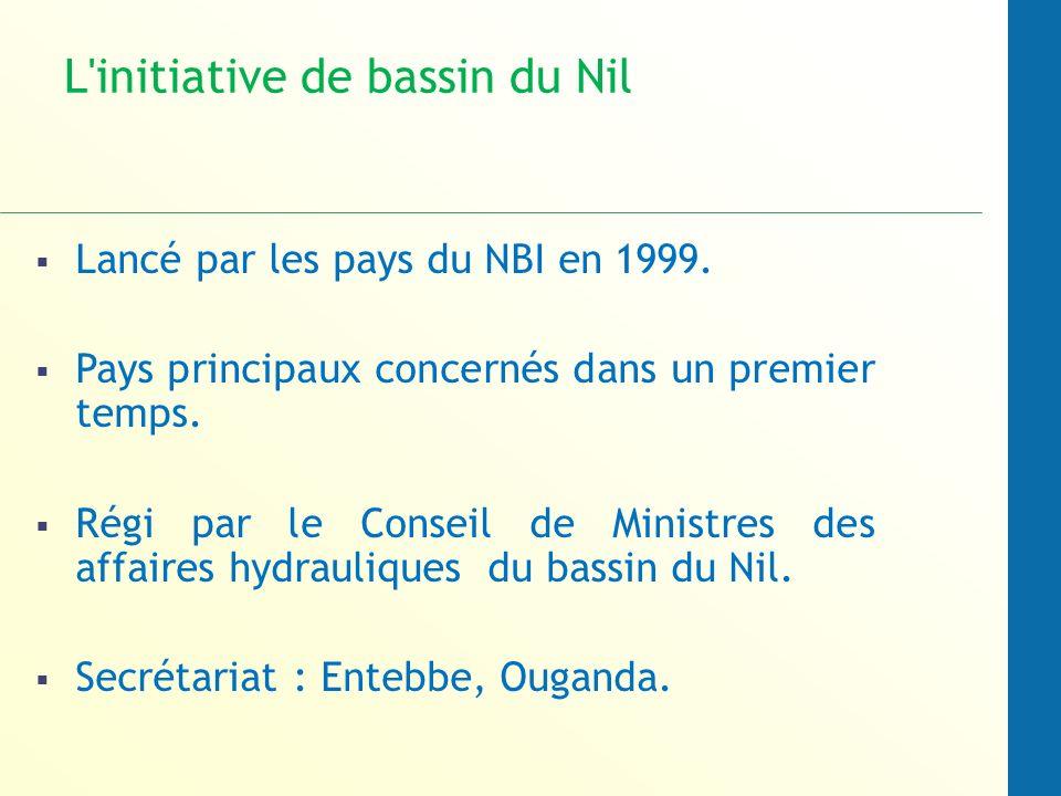 L initiative de bassin du Nil