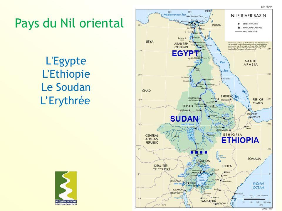 Pays du Nil oriental L Egypte L Ethiopie Le Soudan L'Erythrée EGYPT