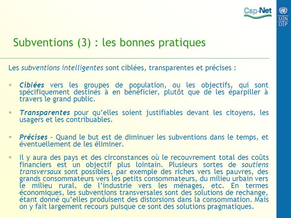 Subventions (3) : les bonnes pratiques
