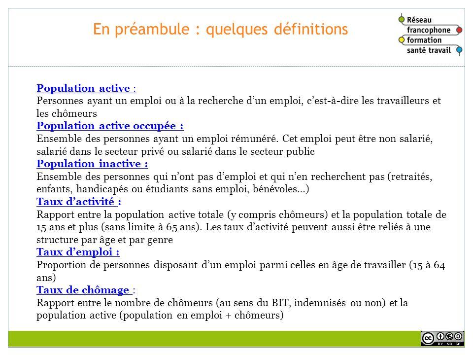 En préambule : quelques définitions