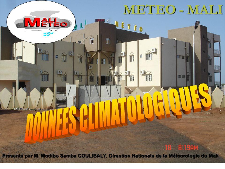 DONNEES CLIMATOLOGIQUES