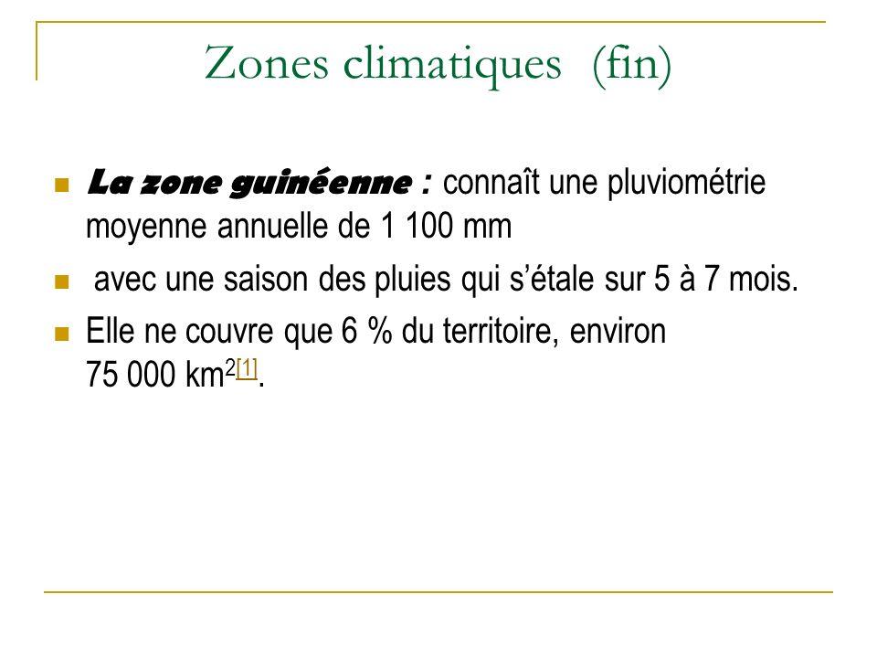 Zones climatiques (fin)