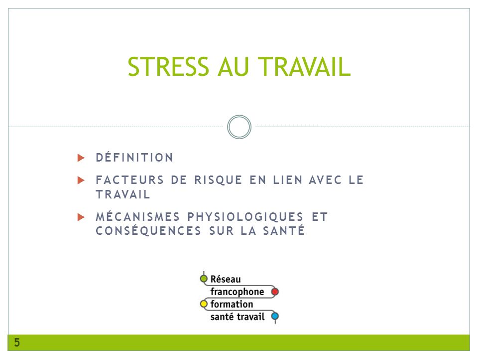 Prevention des risques psychosociaux ppt t l charger for Stress travail