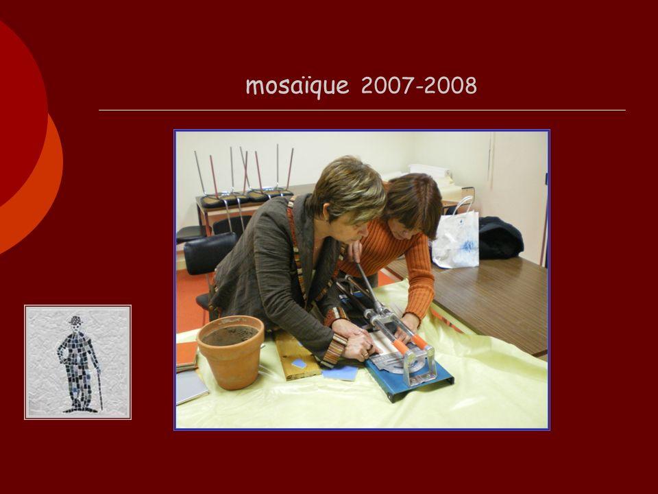 mosaïque 2007-2008