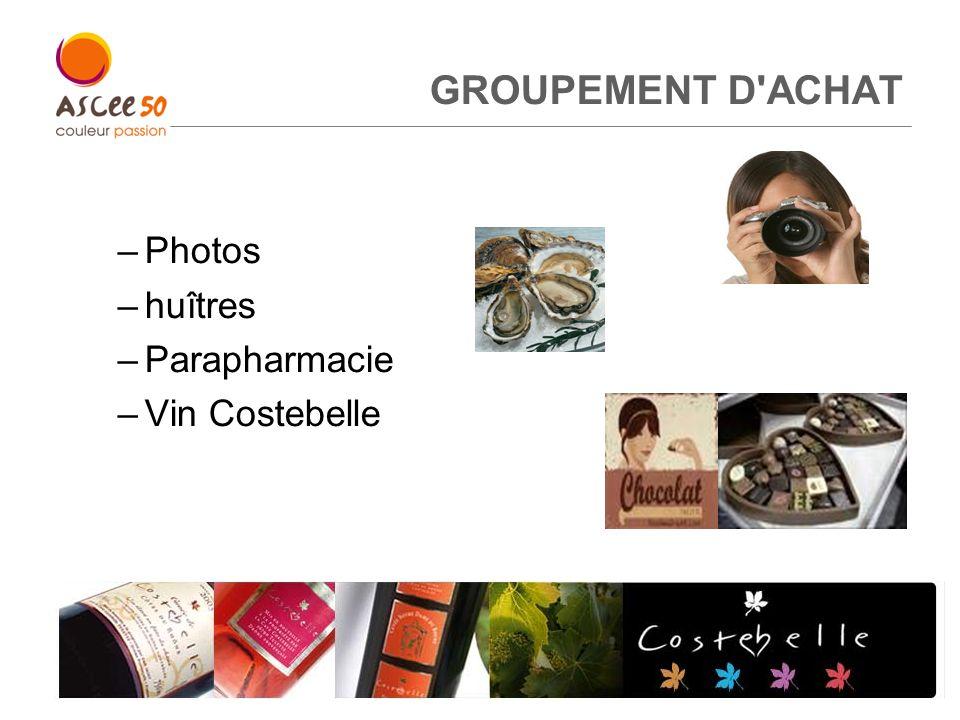 GROUPEMENT D ACHAT Photos huîtres Parapharmacie Vin Costebelle 5