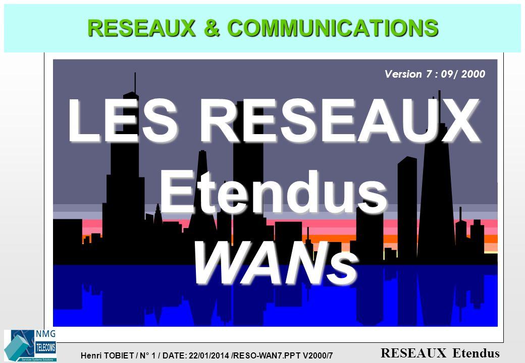 RESEAUX & COMMUNICATIONS